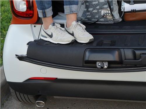 Предпросмотр smart fortwo 2015 багажный отсек
