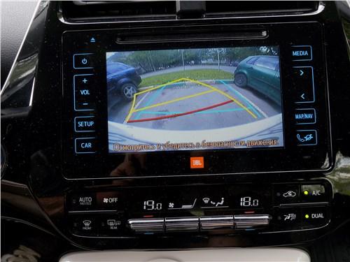Toyota Prius 2016 монитор