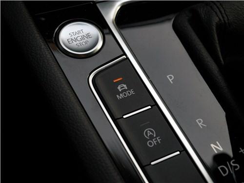 Volkswagen Passat 2015 управление трансмиссией