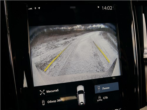Volvo V60 Cross Country 2019 центральная консоль