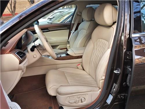 Hyundai Genesis G90 2019 передние кресла