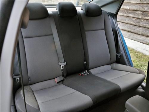 Hyundai Solaris 2020 задний диван