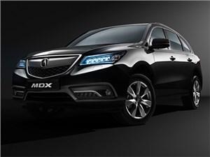 Обновленный кроссовер Acura MDX появится в продаже через пару дней
