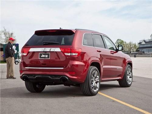 В России отзывают Jeep Grand Cherokee