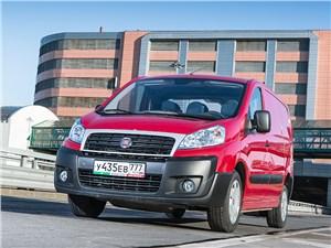 Fiat Scudo Cargo 2014 вид спереди