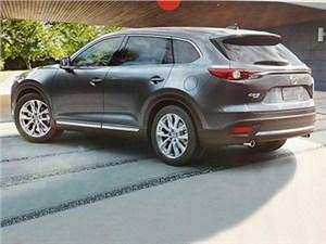 Фотографии Mazda CX-9 нового поколения появились в Сети перед самой премьерой