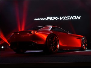 Предпросмотр mazda rx-vision concept 2015 вид сзади