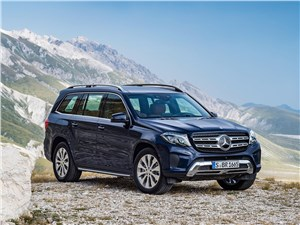 Mercedes-Benz GLS - Mercedes-Benz GLS 2016 вид спереди