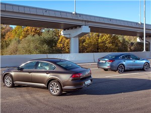 Сравнительный тест. Mazda 6 2016 и Volkswagen Passat 2015. На спорной территории