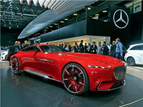 Парижский автосалон 2016 Vision Mercedes-Maybach 6 концепт