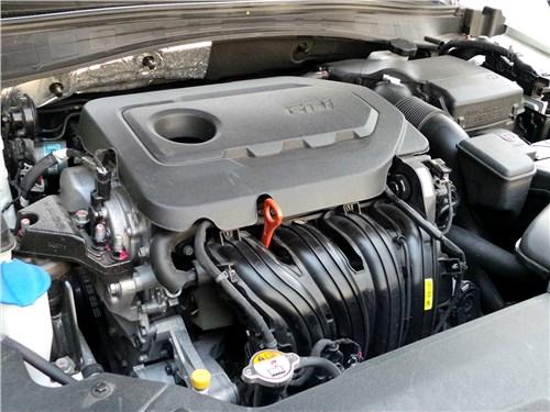 Kia Optima GT-Line 2016 двигатель