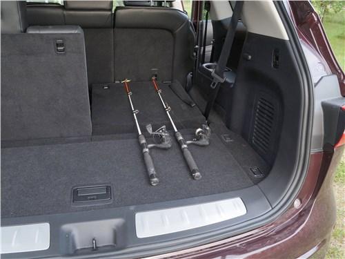 Предпросмотр infiniti qx60 2016 багажное отделение