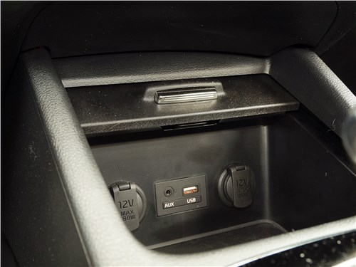 Kia Cerato 2016 розетки и разъемы
