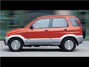 Daihatsu Terios, Mitsubishi Pajero, Suzuki Jimny