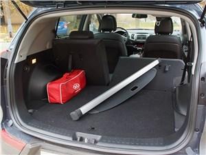 Kia Sportage 2014 багажное отделение