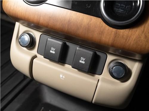Land Rover Range Rover Westminster 3.0 TD AT L (2020) климат для второго ряда