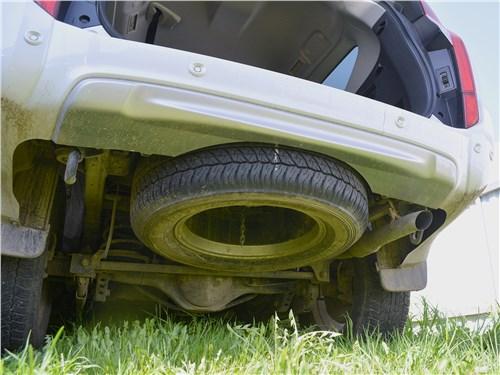 Mitsubishi Pajero Sport (2020) запасное колесо