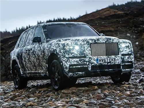 Новость про Rolls-Royce - Rolls-Royce Cullinan