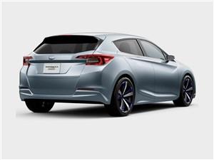 Предпросмотр subaru impreza 5-door concept 2015 вид сбоку сзади 2