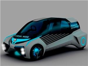 Предпросмотр toyota fcv plus concept 2015 вид спереди