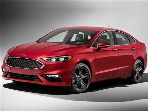 Ford Fusion - Ford Fusion 2016 вид спереди