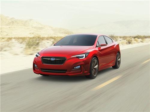 Предпросмотр subaru impreza sedan concept 2015 вид спереди