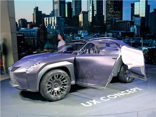 Парижский автосалон 2016 Lexus UX концепт