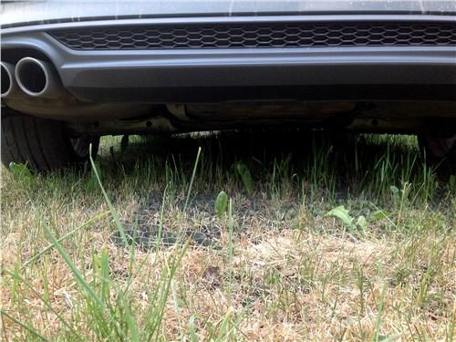 Audi A5 Coupe 2017 дорожный просвет