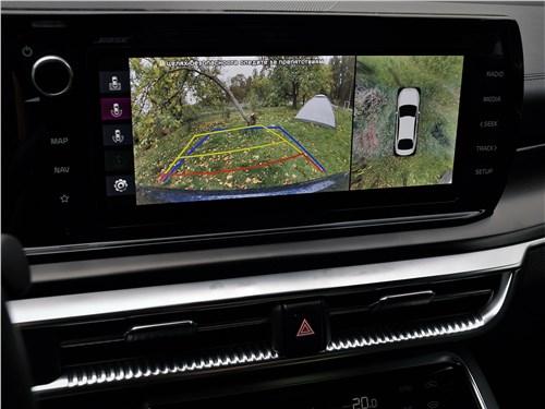 Kia K5 2021 сенсорный экран