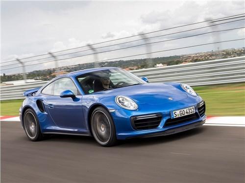Предпросмотр porsche 911 turbo 2016 вид спереди