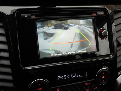 Fiat Fullback 2016 центральный дисплей