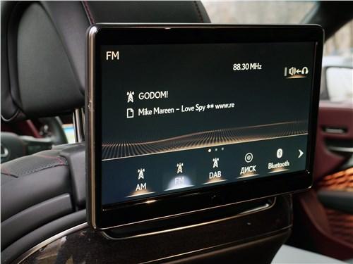 Lexus LS 500 2018 монитор