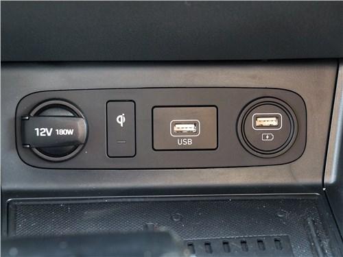 Hyundai Sonata 2020 разъемы