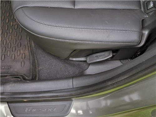 Hyundai Tucson 2019 задний диван