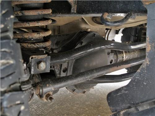 UAZ Hunter (2003) передняя подвеска