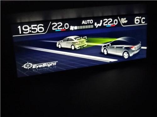 Subaru XV (2022) дополнительный экран