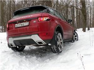 Range Rover Evoque 2012 вывешивание