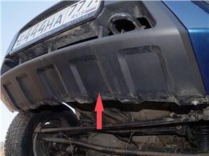 UAZ Pickup 2014 нижняя часть накладки переднего бампера