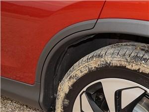 Honda CR-V 2015 «фетровые» задние подкрылки