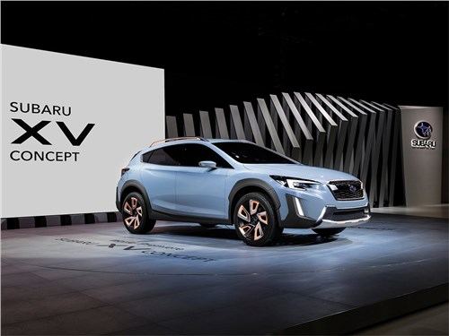 Предпросмотр subaru xv concept 2016 вид спереди
