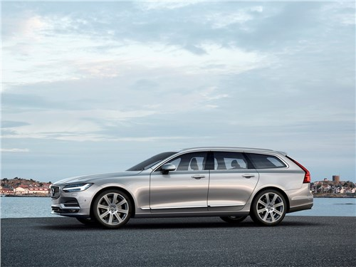 Volvo V90 Estate 2017 вид сбоку