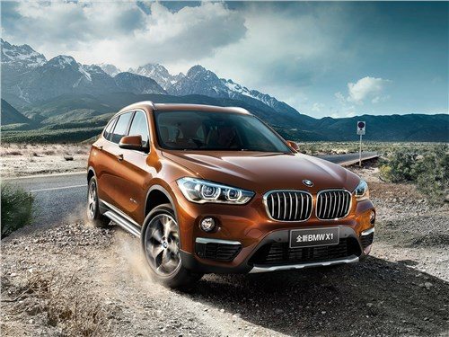 BMW X1 - BMW X1 Long Wheelbase 2017 вид спереди