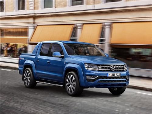 Битва за Африку Amarok - Volkswagen Amarok 2017 вид спереди сбоку