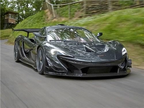 Новость про McLaren - McLaren P1 LM