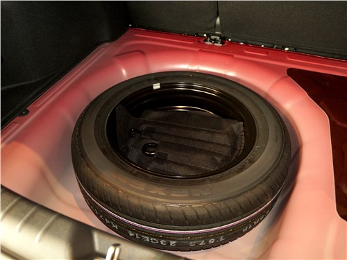 Kia Rio 2017 запасное колесо
