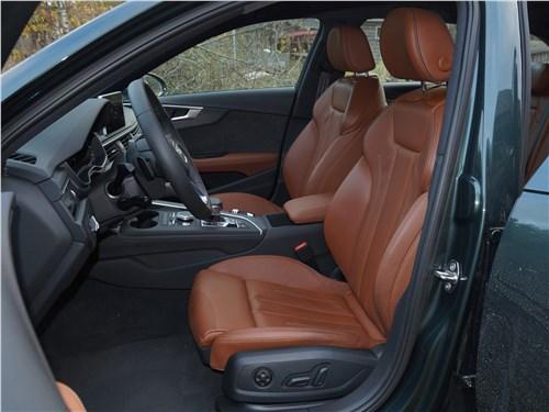 Audi A4 allroad quattro 2016 передние кресла