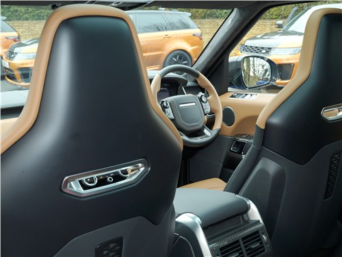 Land Rover Range Rover Sport SVR 2018 передние кресла
