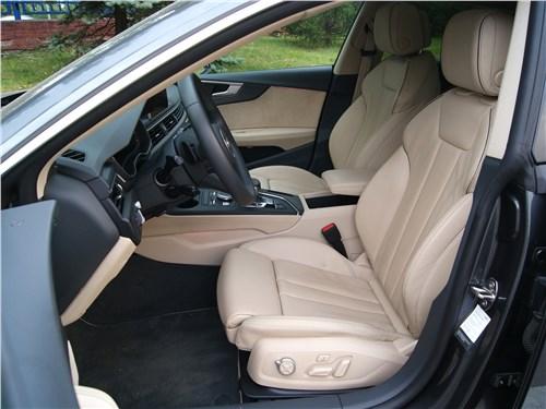 Audi A5 Sportback 2020 передние кресла