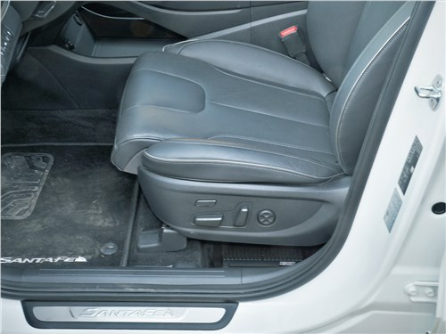 Hyundai Santa Fe (2021) передние кресла