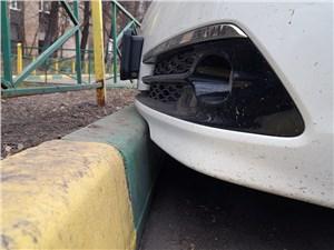 Acura TLX 2015 передний бампер